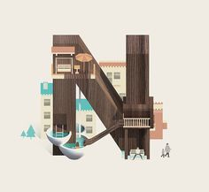 Resort Type on Behance