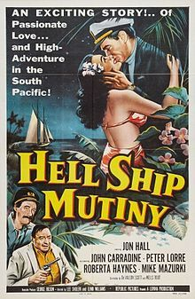 Jim Knight is the captain of a ship trading in the South Seas. He runs into trouble when he makes port at an island where crooks Malone and Ross hold the natives as they seek a fortune in pearls. Knight and his crew are taken prisoners and he falls for native princess Mareva. Hell Ship Mutiny (1957) is one of the best dramas inside Cinematix.  #classicmovies #classicdrama Get it here> https://itunes.apple.com/us/app/cinematix/id625114096?mt=8