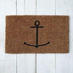 Coir Doormat - Anchor