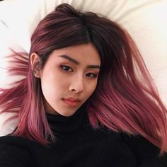 75 for you to be inspired and have beautiful hair color Bl Hair styles color aesthetic Hair Color Dark, Cool Hair Color, Dark Pink Hair, Short Purple Hair, Short Dyed Hair, Creative Hair Color, Dark Blonde, Blonde Hair, Cabelo Rose Gold
