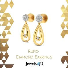 Buy these beautiful earrings now only at jewels4u.in