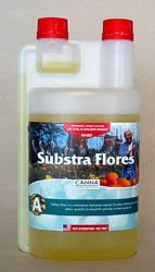 Canna Substra Flores A SUBSTRA FLORES In the brief but exuberant blooming period of a plant, it is vital that nutrients are directly available and properly composed. SUBSTA FLORES stimulates fructification and contains all the nutrition that a plant needs during the blooming phase. #canadianwholesalehydroponics