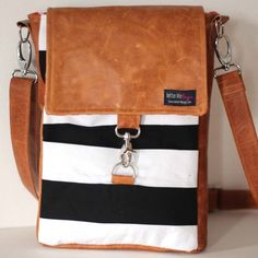 Beverly Bag - want this bag with peach or light chambray inside. Better Life Bags, Leather Purses, Leather Bag, Dressed To The Nines, Big Bags, Summer Bags, Diy Canvas, New Bag, Christmas Wishes