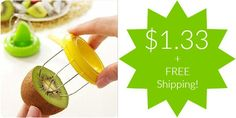 Kiwi Slicer Only $1.33 + FREE Shipping!