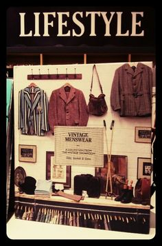 Guide to vintage menswear.