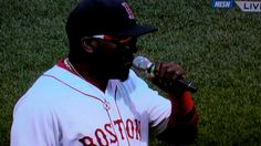 "Big Papi David Ortiz ""This Is Our Fuckin City!"" Boston Strong"