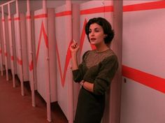 Audrey in Twin Peaks -- forever and always her.