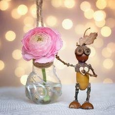 Galerie přespolních - Dubánci Acorn Crafts, Pine Cone Crafts, Jar Crafts, Crafts To Do, Felt Crafts, Crafts For Kids, Arts And Crafts, Dremel Projects, Crafty Projects