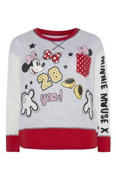 Primark - Minnie Mouse Varsity PJ Sweat