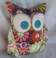 Plush Owl from I Sew Lucky