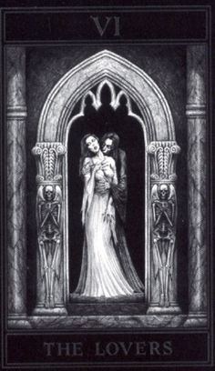 Gothic Tarot (Joseph vargo) - The Lovers