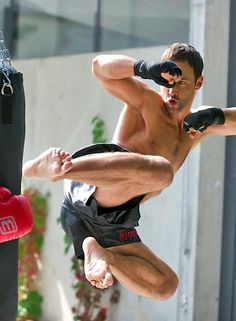 Kickboxing-i would fall on my head-but this would be so cool to be able to do-