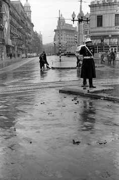 Pelai/Rambla Catalunya.1950                                                                                                                                                                                 Más