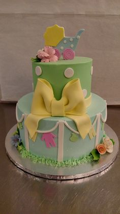 Baby Shower cake by Bella Donna Special Events & Bakery