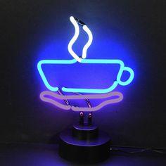 Neon Sculptures - Coffee Cup Neon Sculpture