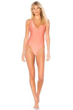 9d6e517d52661 Somedays Lovin Wild Love One Piece in Coral Swimsuits, Bikinis, Swimwear,  Beachwear,