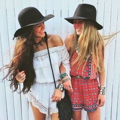 Pretty boho chic rompers for a modern hippie summer style. For the BEST Bohemian fashion styles FOLLOW https://www.pinterest.com/happygolicky/the-best-boho-chic-fashion-bohemian-jewelry-gypsy-/ now