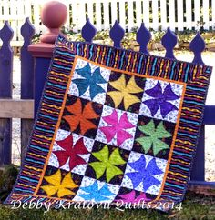 Debby Kratovil Quilts: Winding Ways and a Free Pattern