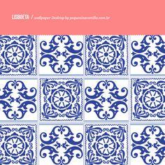Wallpaper e pattern Lisboeta   Azulejo português: download para desktop