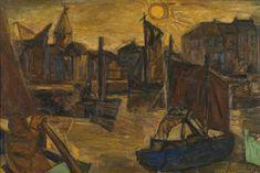Constant Permeke Belgian Expressionism | Œuvre « Le port d'Ostende » – Musées royaux des Beaux-Arts de ...