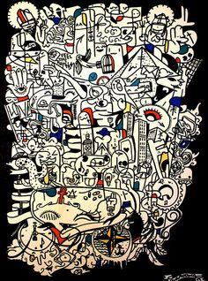 Street Artist Wa Roox