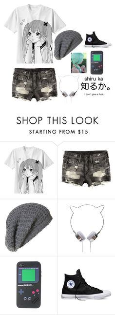 """""""Untitled #37"""" by venus64 ❤ liked on Polyvore featuring H&M, Topman and Converse"""