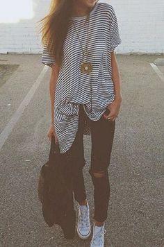 stripes #fashion #style #clothing