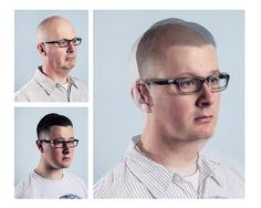 1 | Uncanny Portraits Blend Fathers And Sons Into A Single Person | Co.Design | business + design