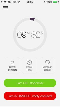Safety app BeeSafe available on the App Store soon! Here is a sneak peek of iOS app design!