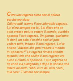 ♥: L'AMORE E' CIECO