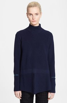 Stella McCartney Rib Knit Turtleneck Sweater