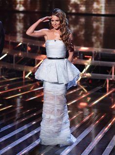 Cheryl Cole in Ermanno Scervino