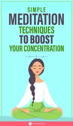 Do you find yourself often easily distracted? Wondering how you can increase your concentration levels? Then concentration meditation is the only solution. Check out these simple techniques Meditation For Stress, Easy Meditation, Morning Meditation, Meditation Benefits, Chakra Meditation, Meditation Practices, Yoga Benefits, Meditation Music, Mindfulness Meditation