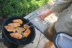 Dad's Top Five Grilling Tips and Mesquite-Smoked Grilled Chicken Breasts (gluten free) - Affairs of Living - gluten-free, allergy-friendly, and whole foods recipes, resources, and tips