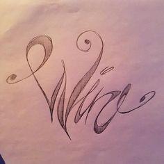 #wine #typography #pencil #sketch #like4like #illustration