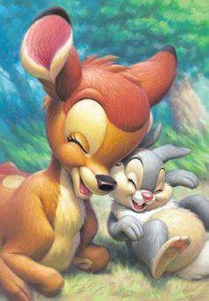 Bambi (amber) & Thumper(steph) = best friends 4 life