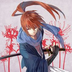 Image uploaded by Ari. Find images and videos about anime, rurouni kenshin and samurai x on We Heart It - the app to get lost in what you love. Rurouni Kenshin, Kenshin Anime, Era Meiji, Manga Anime, Anime Guys, Anime Art, Kenshin Le Vagabond, Samourai Tattoo, Samurai Anime