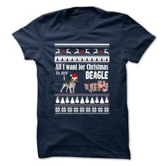 Beagle christmas T-Shirts, Hoodies. SHOPPING NOW ==► https://www.sunfrog.com/Pets/Beagle-christmas.html?id=41382