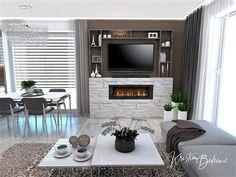 Funkčná elegancia - Dizajn kuchyne s obývačkou - Kristína Bedečová Living Room Kitchen, Luster, Design, Home Decor, Elegant, Decoration Home, Room Decor, Kitchen Living