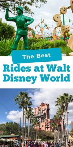 While Walt Disney World is known for rides, there are only so many you can experience in one trip. Here are the best rides at Walt Disney World that are worth the line. Walt Disney World Rides, Disney World Theme Parks, Tower Of Terror, Space Mountain, Haunted Mansion, Pirates Of The Caribbean, Disney Vacations, Magic Kingdom, Roller Coaster