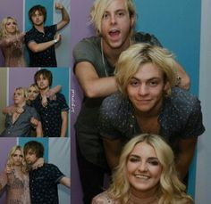 The blondes of R5 everyone! And we just can't forget Ellington!
