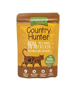 Natures Menu Country Hunter Free Range Chicken Complete Cat Food 6 x 85 (510g) *** More info could be found at the image url. (This is an affiliate link and I receive a commission for the sales)