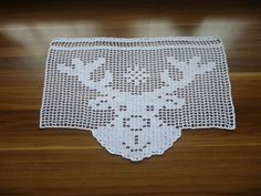 to add to any blanket Filet Crochet, Thread Crochet, Hand Crochet, Crochet Baby, Doily Patterns, Cross Stitch Patterns, Crochet Patterns, Crochet Curtains, Crochet Doilies