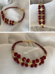 This beautiful bracelets is handmade by silver plated and a Beaded Jewelry Patterns, Handmade Jewelry Designs, Bracelet Patterns, Bead Jewellery, Seed Bead Jewelry, Bracelet Crafts, Jewelry Crafts, Fashion Bracelets, Jewelry Bracelets