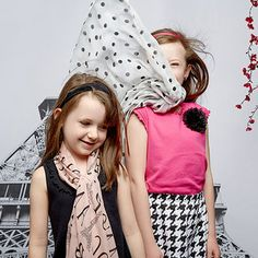Springtime in Paris: Girls' Apparel
