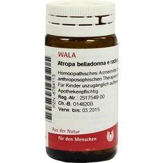 #ATROPA BELLADONNA e Radix D 20 Globuli rezeptfrei im Shop der pharma24 Apotheken