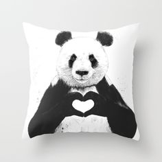 Because a panda making a heart makes me happy.