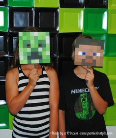 Minecraft Birthday Party -- Tons of clever ideas!