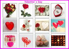 Valentine`s Day Bingo, for more resources follow https://www.pinterest.com/angelajuvic/autism-special-education-resources-angie-s-tpt-sto/