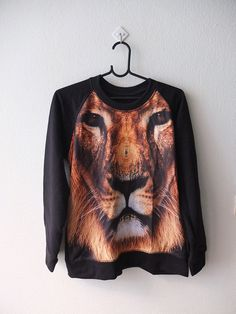 Tiger Fashion Pop Rock Sweatshirt